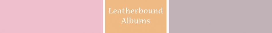 Leatherbound Albums NS