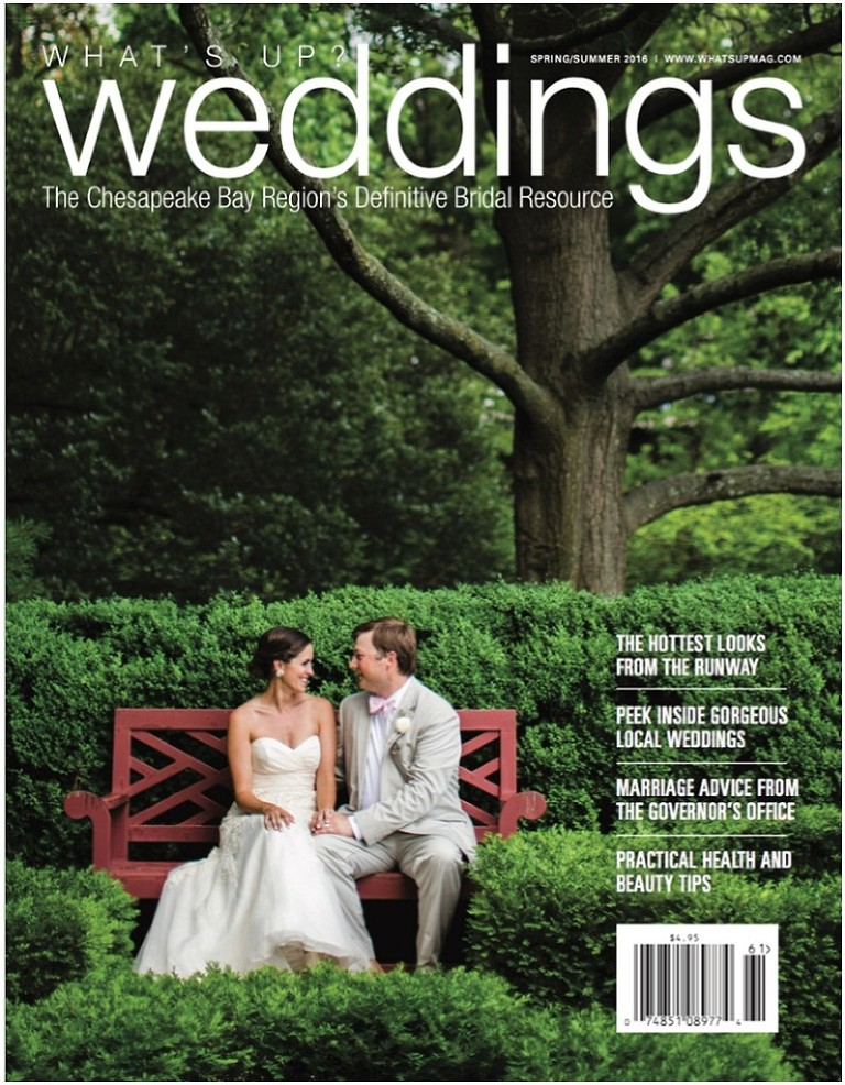 What's Up Weddings Cover SS2016